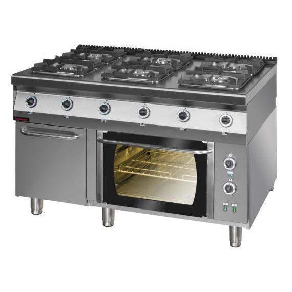 Kuchnia Gazowa Z Piekarnikiem Elektrycznym 900kg 6petsd Kromet